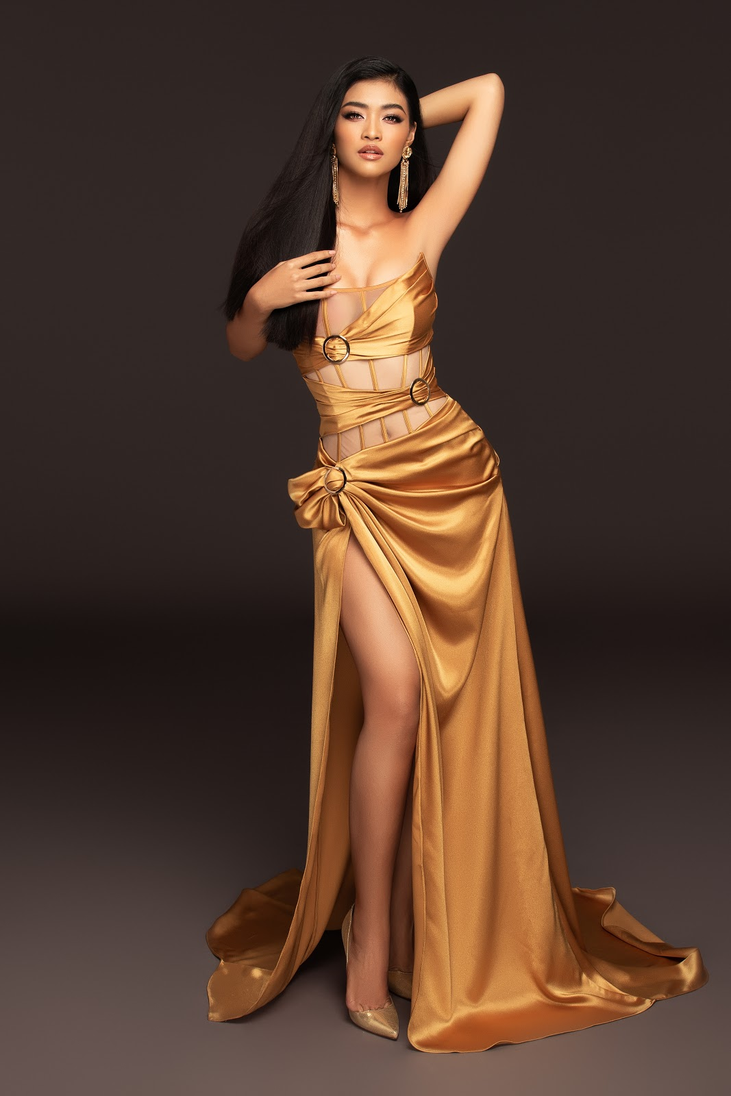 Á hậu Kiều Loan tung bộ ảnh chào sân Miss Grand International đầy quyến rũ  - Hình 2