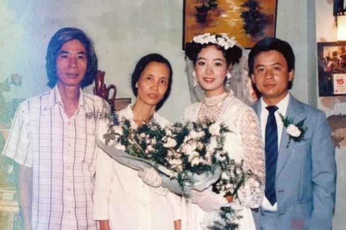Ảnh cưới hiếm hoi của sao Việt - Hình 5