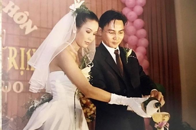 Ảnh cưới hiếm hoi của sao Việt - Hình 4