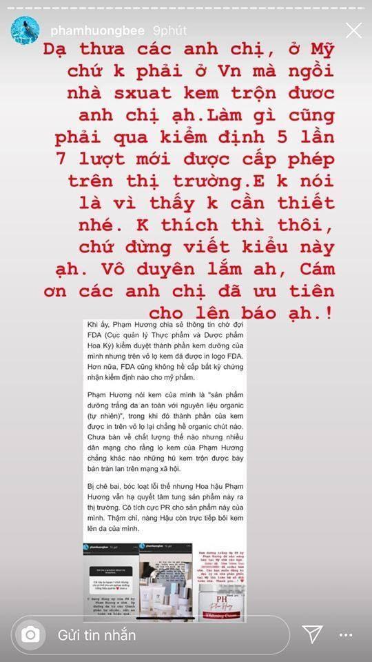 Phạm Hương tiếp tục đấu khẩu với cộng đồng mạng vô tình để lộ ra trình độ văn hoá thấp kém - Hình 2