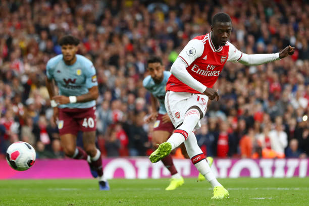 5 điểm nhấn Arsenal 3-2 Aston Villa: Địa chấn hụt ở Emirates; Pepe lần đầu làm chuyện ấy - Hình 1