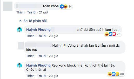 Bị anti-fan đá xoáy clip khoe quà tặng Sĩ Thanh, Huỳnh Phương đanh thép đáp: Dư tiền quá, giờ làm gì? - Hình 3