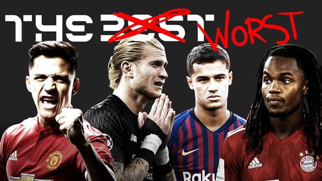 Đội hình tệ nhất thế giới 2019: Sanchez muối mặt, MU xấu hổ vì Fred - Jones - Hình 1