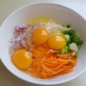 Trứng chiên rau củ - Hình 2