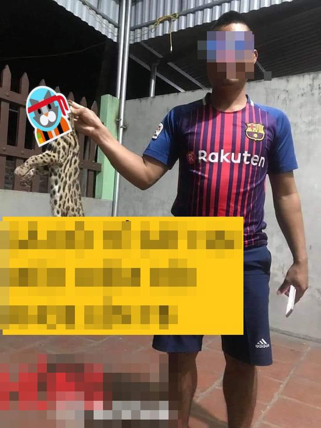 Xôn xao thông tin người đàn ông giết mèo rừng quý hiếm rồi đăng Facebook khoe - Hình 2