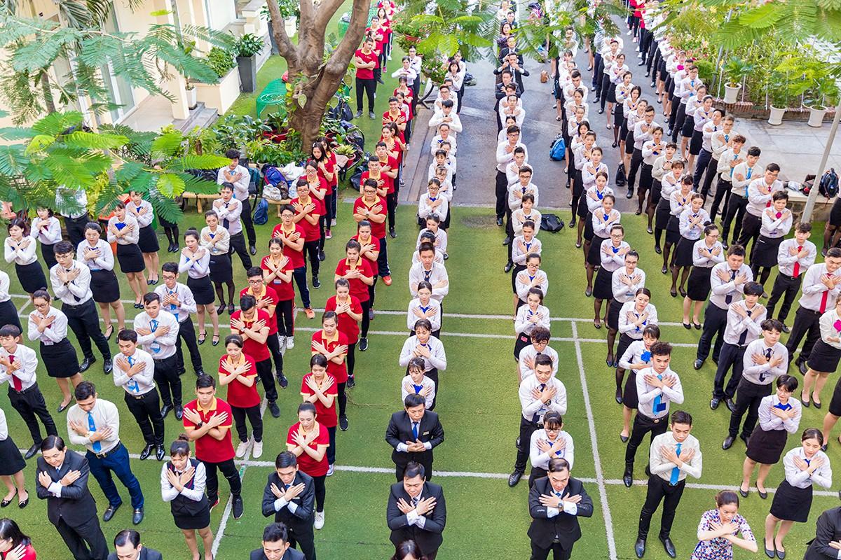 30 năm Trường Trung cấp Du lịch và Khách sạn Saigonrourist - Hình 1