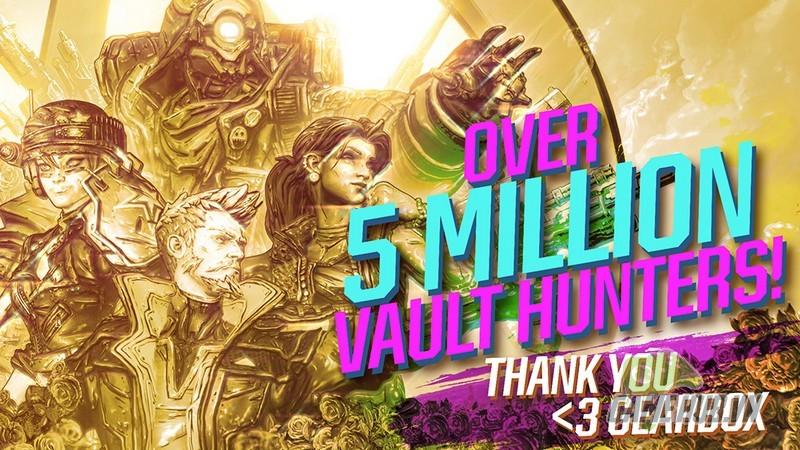 5 ngày tẩu tán hơn 5 triệu bản, Borderlands 3 xứng danh game bán chạy nhất lịch sử 2K - Hình 1