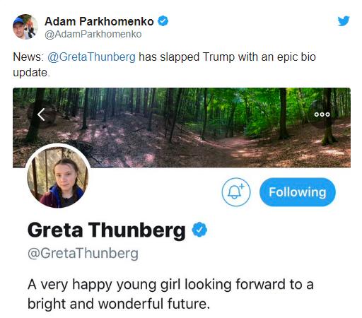 Bị Tổng thống Trump mỉa mai, cô bé Thụy Điển 16 tuổi đáp trả sâu cay - Hình 1