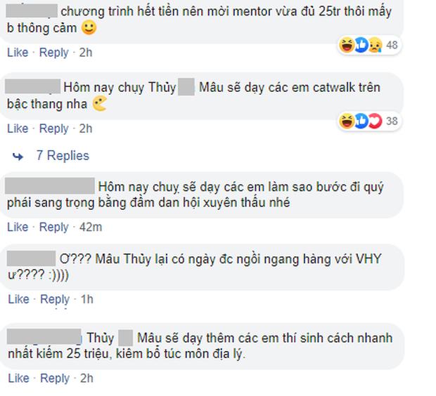 Cư dân mạng cà khịa cực mạnh Mâu Thủy khi ngồi ghế nóng Vietnams Next Top Model - Hình 3