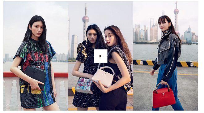 Địch Lệ Nhiệt Ba sánh vai cùng thiên thần nội y Ming Xi trong chiến dịch quảng cáo của nhà mốt Louis Vuitton - Hình 1