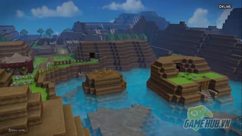 Sửng sốt với thế giới The Legend of Zelda được tái hiện trong Dragon Quest Builders - Hình 2