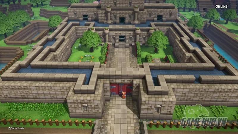 Sửng sốt với thế giới The Legend of Zelda được tái hiện trong Dragon Quest Builders - Hình 1