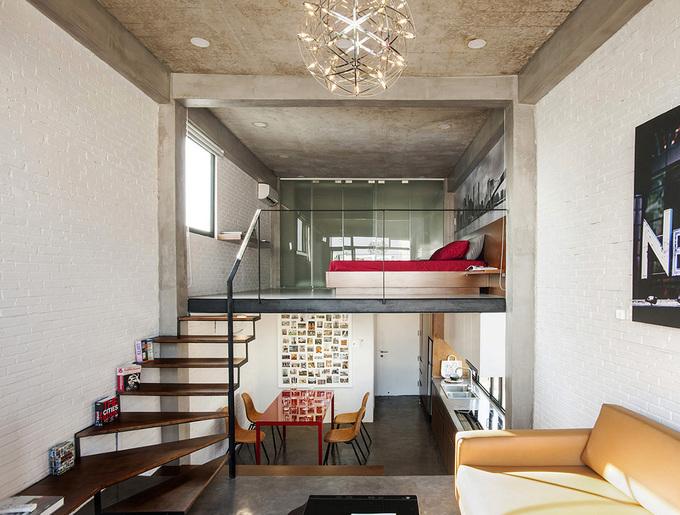 3 tầng thông nhau trong căn hộ Sài Gòn - Hình 1