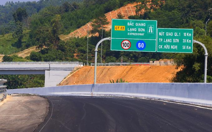 Thông xe kỹ thuật cao tốc Bắc Giang - Lạng Sơn - Hình 1