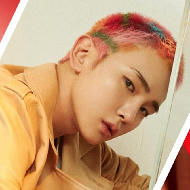 Trưởng nhóm BTS và dàn sao Hàn dám nhuộm tóc 7 màu nổi bật - Hình 6