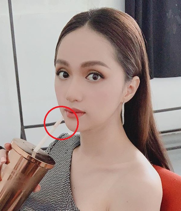 Tưởng mặt đẹp chuẩn không cần chỉnh, nào ngờ Hương Giang vẫn bị soi photoshop méo tường - Hình 5