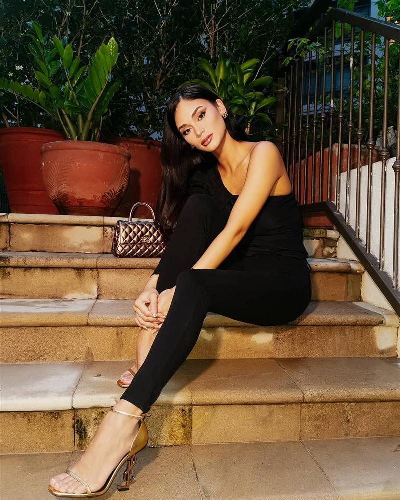 Bản tin Hoa hậu Hoàn vũ 4/9: Chẳng trang điểm đậm HHen Niê vẫn nổi bật nhờ hoa cài mái tóc - Hình 8