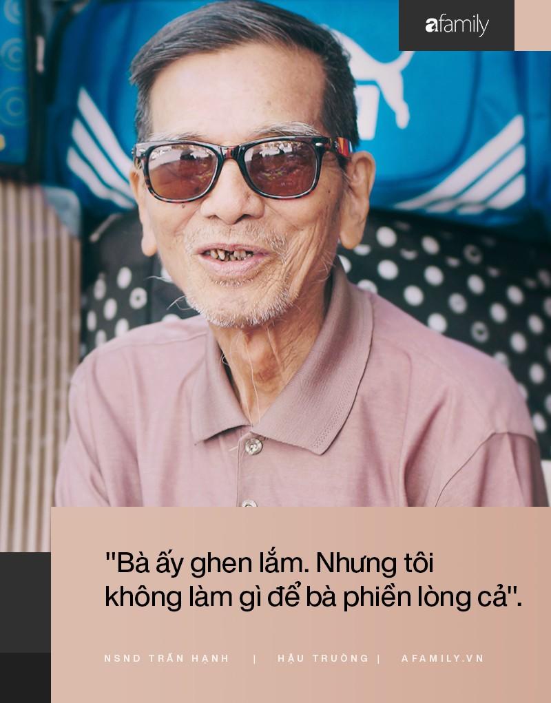 Người đàn ông khắc khổ nhất màn ảnh Việt NSND Trần Hạnh trải lòng về người vợ hay ghen và sự thật chuyện mưu sinh vất vả mà người đời bàn tán - Hình 2