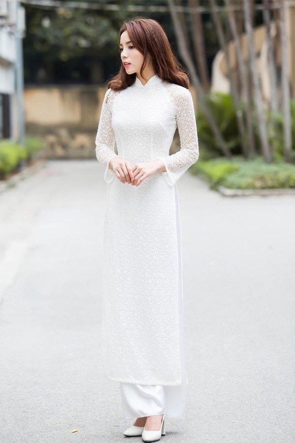 Ngày khai giảng, khoảnh khắc với áo dài trắng của các nàng Hậu Việt thuở nào lại gây xao xuyến - Hình 3