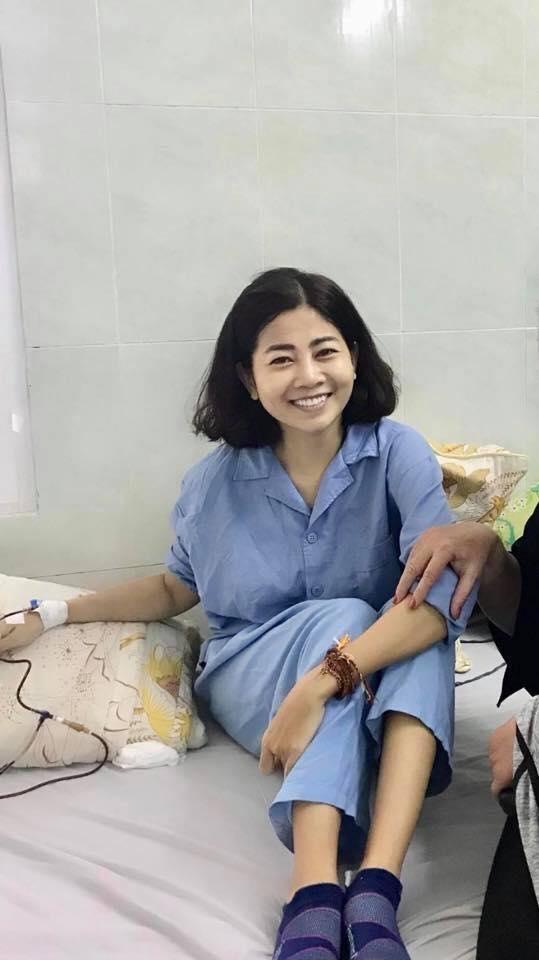 Ốc Thanh Vân thông báo sức khoẻ của Mai Phương: Lúc mệt thì thiếp đi - Hình 1