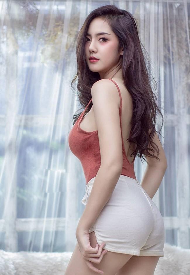 Hot girl quyến rũ bậc nhất Thái Lan mặc áo dây đẹp thứ 2 thì ít ai tranh số 1 - Hình 7