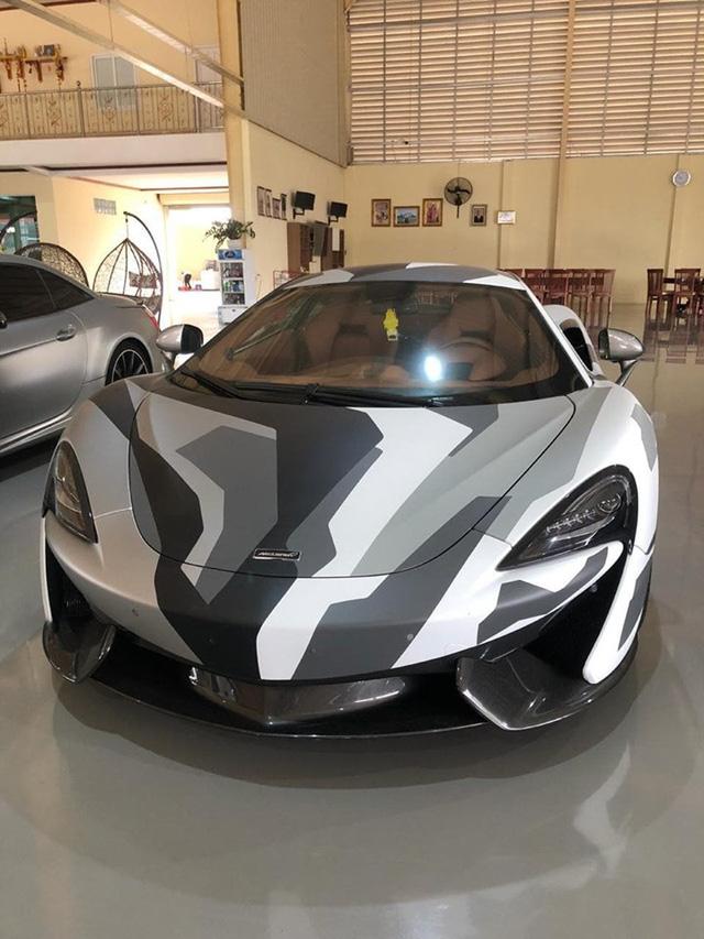 McLaren 570S camo hàng độc về Việt Nam với xuất xứ đặc biệt - Hình 3
