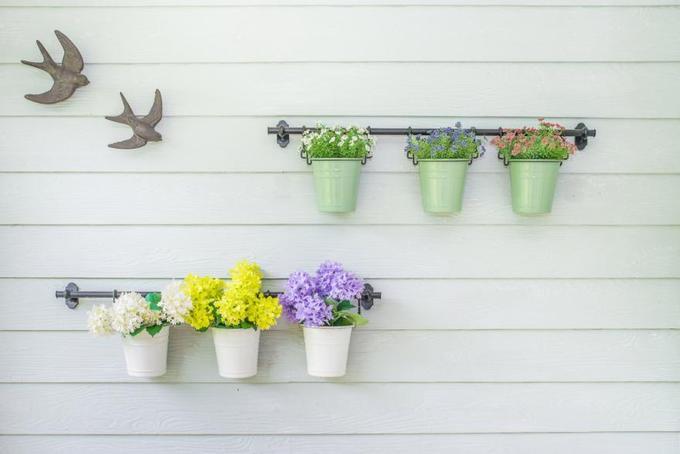 15 ý tưởng làm vườn treo trong nhà - Hình 7