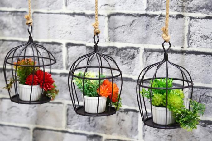 15 ý tưởng làm vườn treo trong nhà - Hình 3