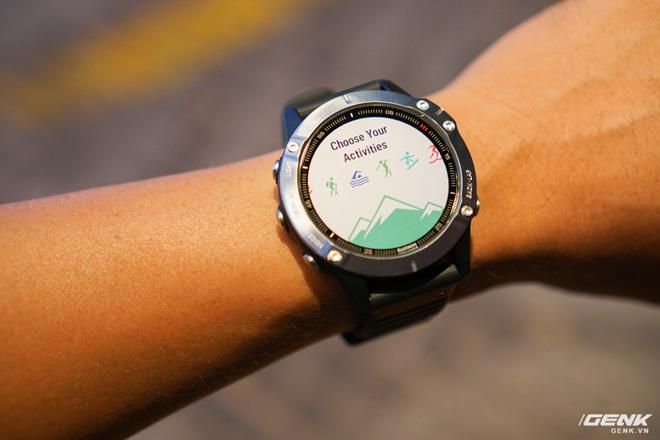 Cận cảnh Garmin Fenix 6X Pro Solar: Smartwatch đầu tiên nạp pin bằng năng lượng Mặt Trời, giá lên đến gần 29 triệu đồng cho bản cao cấp nhất - Hình 15