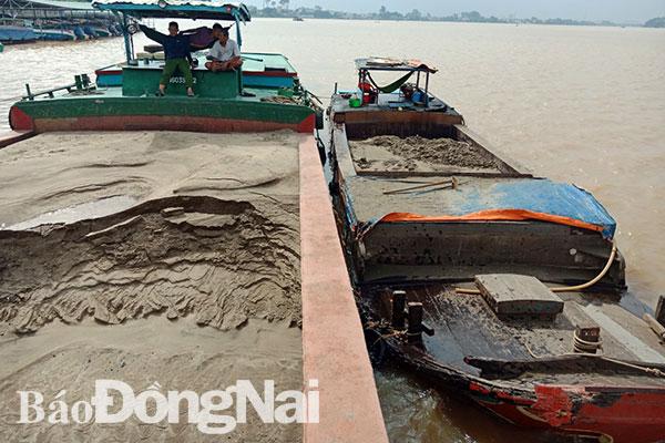 Lần đầu tiên xét xử đối tượng khai thác cát trái phép - Hình 1