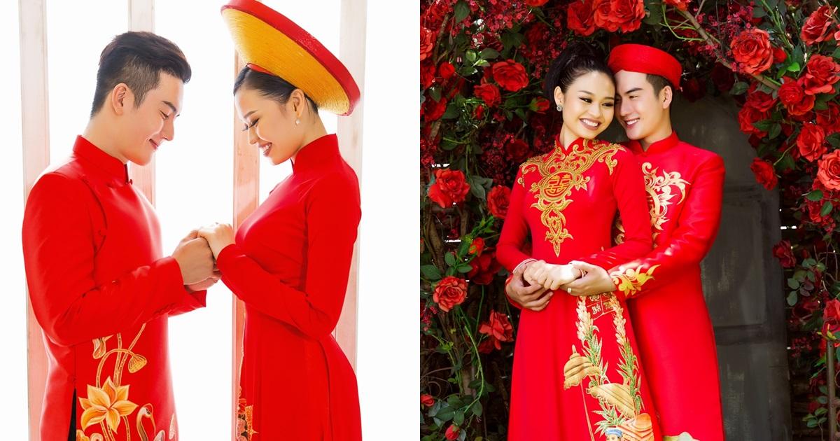 Con gái Lê Giang mặc váy cưới chụp ảnh tình tứ cùng trai đẹp nhưng lại từ chối nói về chuyện kết hôn - Hình 10