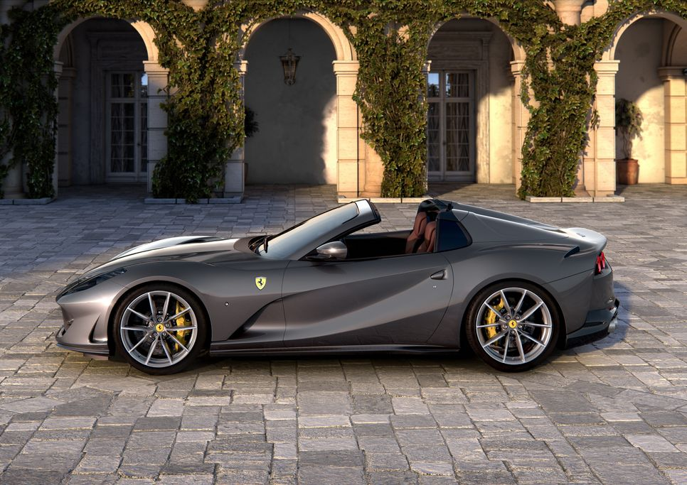 Ferrari 812 GTS hoàn toàn mới - siêu xe mui trần mạnh nhất Thế giới - Hình 4
