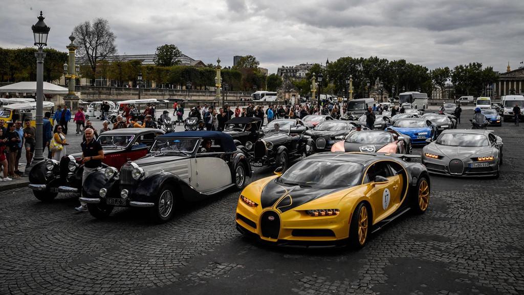 Hàng trăm siêu xe Bugatti hội ngộ nhân kỷ niệm 110 năm thành lập hãng - Hình 16