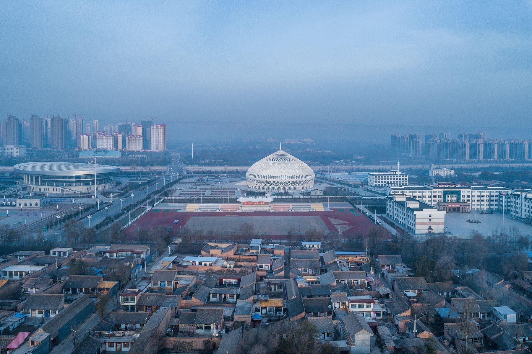 Nhà hát lớn Linxia: Mê hoặc mọi góc nhìn - Hình 1