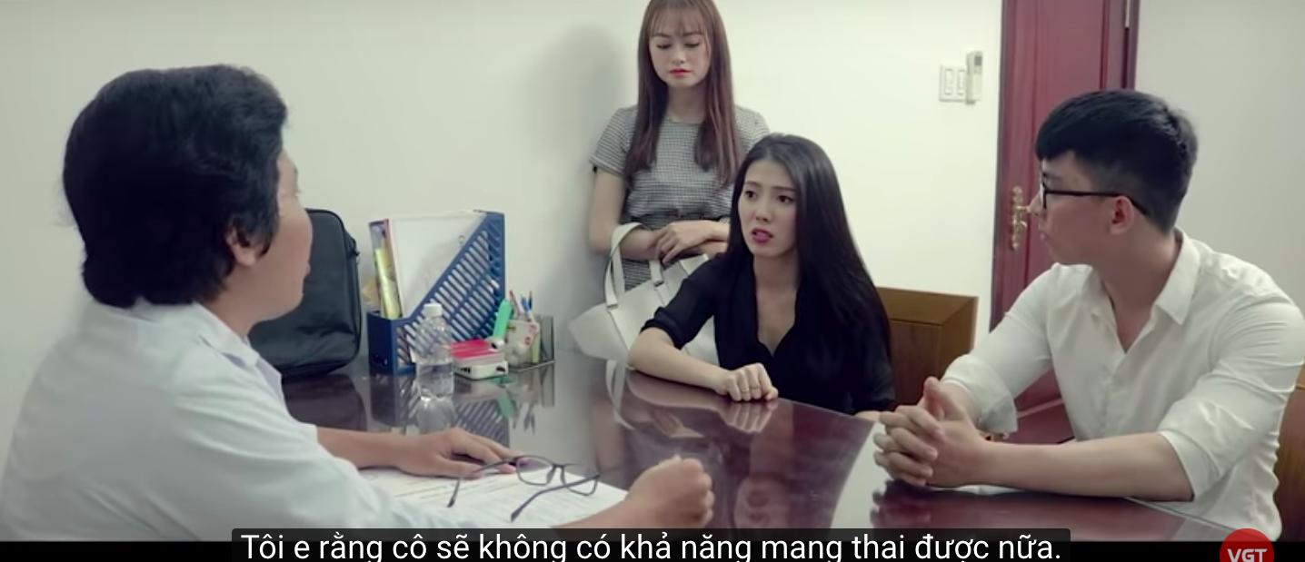 Tập 3 'Bẫy hoa hồng: Nhi Katy bị vô sinh, Trương Minh Thảo phát hiện sự thật 'kinh tởm của vợ - Hình 6