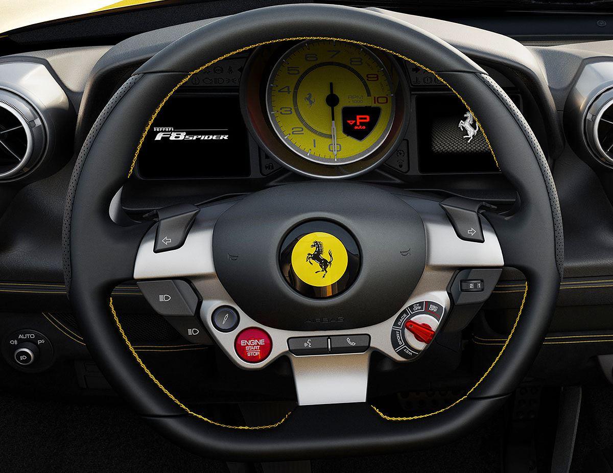 Trình làng Ferrari F8 SPIDER: Siêu xe V8 mui trần kế nhiệm 488 Spider - Hình 10