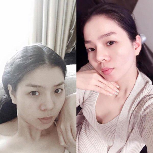 Xinh đẹp ngút trời, Hà Tăng, Minh Hằng để mặt mộc khiến fan thêm ngỡ ngàng - Hình 2