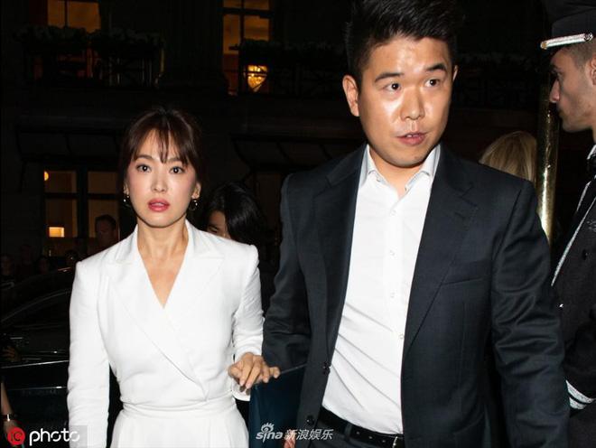 Zoom cận cảnh nhan sắc Song Hye Kyo tại sự kiện: Già nua, lộ dấu hiệu lão hoá và tăng cân? - Hình 3