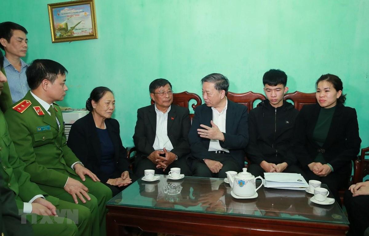Tổ chức tang lễ cho 3 chiến sĩ hi sinh vụ Đồng Tâm vào ngày 16/1 - Hình 1