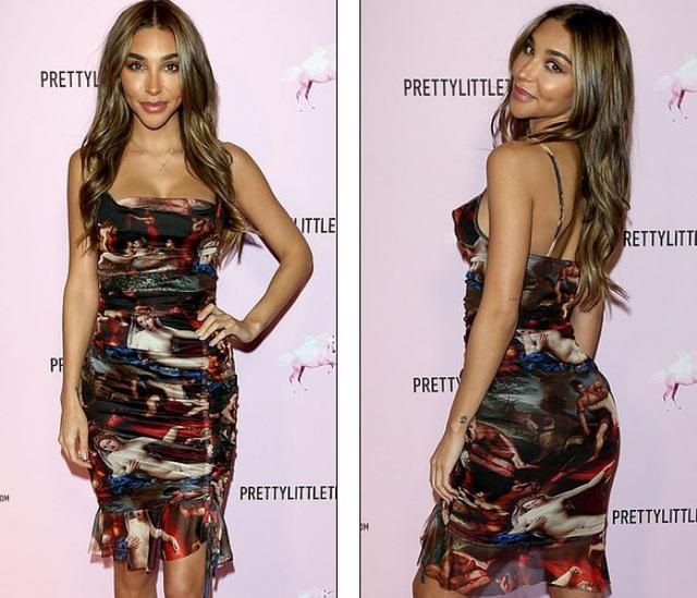 Tình cũ Justin Bieber quyến rũ với váy xẻ sâu - Hình 9
