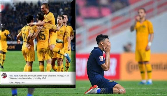 Tuyên bố thắng U23 Việt Nam 10-0, fan Thái sợ bị nghiệp quật sau khi thua Úc - Hình 1