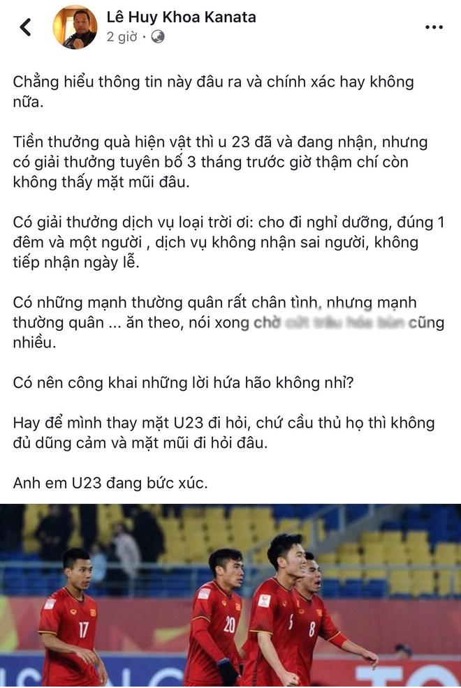 Điểm mặt những vụ lùm xùm trao tiền thưởng cho thể thao Việt Nam - Hình 1