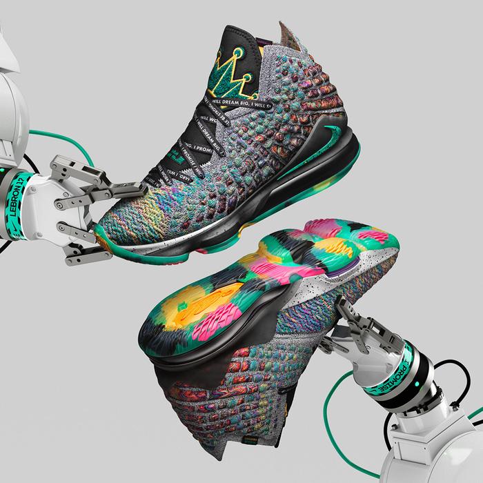 Nike LeBron 17 tung phối màu cực chất, lấy cảm hứng từ di sản cả đời người của siêu sao bóng rổ NBA - Hình 1