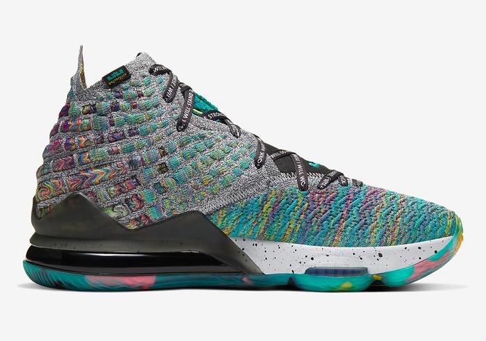 Nike LeBron 17 tung phối màu cực chất, lấy cảm hứng từ di sản cả đời người của siêu sao bóng rổ NBA - Hình 7