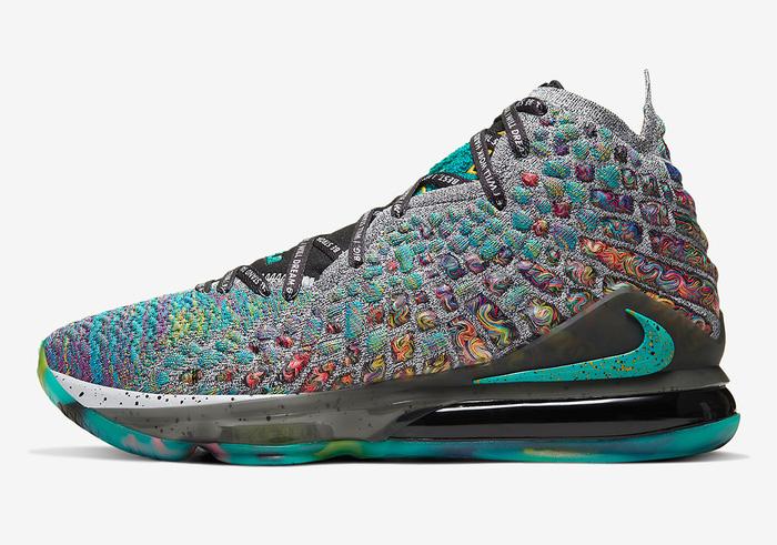 Nike LeBron 17 tung phối màu cực chất, lấy cảm hứng từ di sản cả đời người của siêu sao bóng rổ NBA - Hình 6