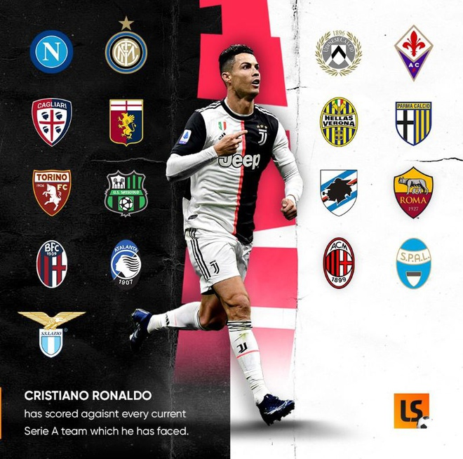 Ronaldo tạo thống kê ghi bàn đáng nể chỉ sau hơn 1 mùa ở Serie A - Hình 1