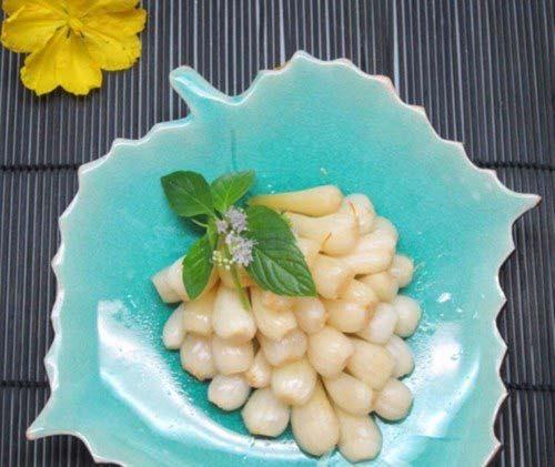 2 Cách làm kiệu chua ngọt trắng giòn không bị hăng và giữ được lâu - Hình 1