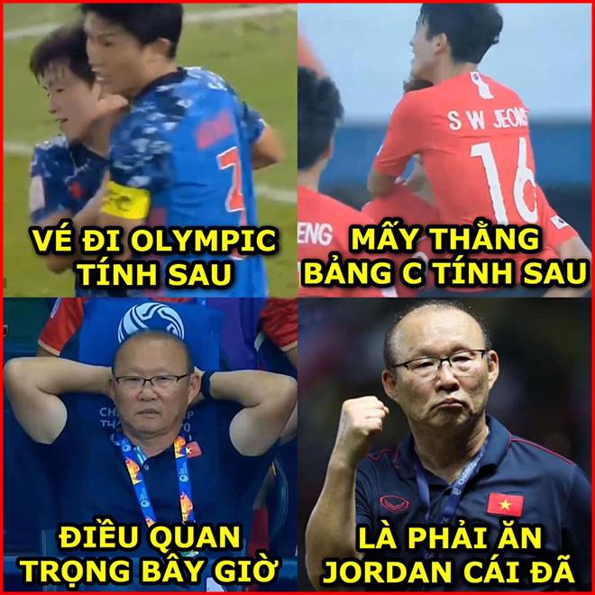 Ảnh chế: Thầy Park và U23 Việt Nam quyết hạ U23 Jordan bằng mọi giá - Hình 1