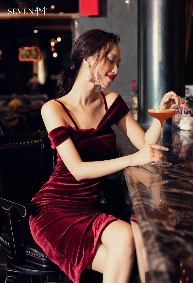 Những mẫu váy thanh lịch cho nàng mùa lễ hội - Hình 2