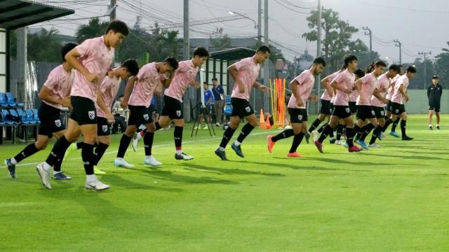 Thần đồng Suphanat tập luyện trở lại ngay trước trận U23 Thái Lan gặp U23 Iraq - Hình 1